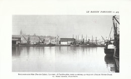 1952 - Héliogravure - Boulogne-sur-Mer (Pas-de-Calais) - Le Port - FRANCO DE PORT - Vieux Papiers