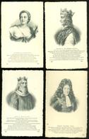 Beau Lot De 60 Cartes Postales Du Famille Royale + Personalités  Dynasty      Mooi Lot Van 60 Postk. Koninklijke Familie - Cartes Postales
