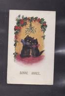 Carte De Voeux , Les Chats - Cartes Postales