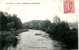 N°64358 -cpa Les Bords De L'Aube à Marcilly Sur Seine - Marcilly