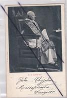 Pape ; S.S. Leone XIII (carte Précurseur De 1901) - Papas