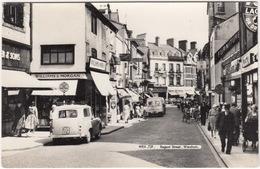 Wrexham: HILLMAN HUSKY '54, 'Caefelin Laundry Co.,Llangollen' VAN - Regent Street - (Wales) - PKW