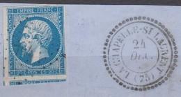 PC   744  LA  CHAPELLE  SAINT  LAURENT  (75  -  DEUX  SEVRES) - 1849-1876: Periodo Classico