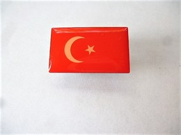 PINS DRAPEAU PAYS D'EUROPE TURQUIE / Editions Atlas / 33NAT - Other