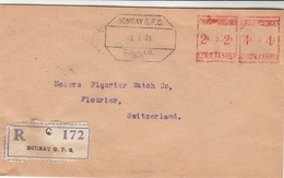 India / Meter Mail / Banks / Switzerland - India