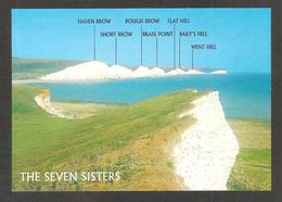 Angleterre - The Seven Sisters From Seaford Head ( 2-61-00-06 ) N° 103 - Worthing