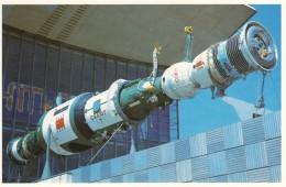 CPA - Le Pavillon Cosmos Moscou - Station Orbitale Permanente  Saliout - Astronomie
