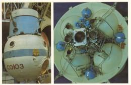 CPA - Le Pavillon Cosmos Moscou - Compartiment Orbital Du Vaisseau Spatial Soyouz - Astronomie