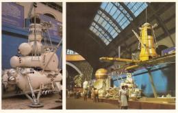 CPA - Le Pavillon Cosmos Moscou - Satelite Cosmos 1500 Et Station Automatique Interplanétaire Luna 24 - Astronomie