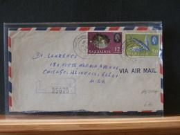 79/004A  LETTRE BARBADOS REGISTRED - Barbados (1966-...)