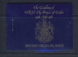 ILES VIERGES 1981 CARNET CHARLES ET DIANA NEUF MNH** YVERT N°C413 - Iles Vièrges Britanniques