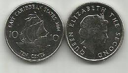 East Caribbean States 10 Cents 2004. High Grade - Caraïbes Orientales (Etats Des)