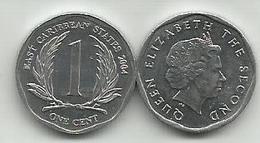 East Caribbean States 1 Cent  2004. High Grade - Caraïbes Orientales (Etats Des)