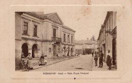 S84 -  Cpa 02  Blérancourt - Mairie - Non Classés