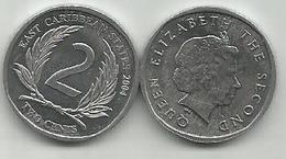 East Caribbean States 2 Cents  2004. High Grade - East Caribbean States