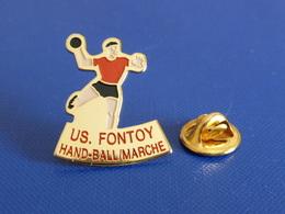 Pin's Handball Hand Ball - Club US Fontoy - Marche (PW19) - Handball