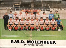 Football R W D Mplenbeek Saison 79/80 - Soccer
