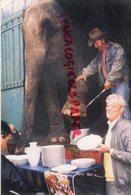 87- LIMOGES - PANAZOL- ROGER LANZAC CIRQUE ELEPHANT ET PORCELAINE PORCELAINES - 1990 - Métiers