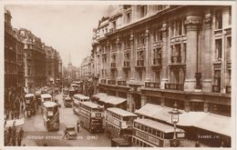 Cp , TRANSPORTS , LONDON , REGENT STREET - Autobús & Autocar