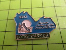 1218a Pin's Pins / Rare Et De Belle Qualité / THEME FRANCE TELECOM / COTES D'ARMOR AGENCE COMMERCIALE BRETAGNE - France Telecom