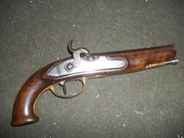 Beau Pistolet De Voyage - Sammlerwaffen