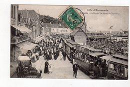 Cancale - La Houle - Le Départ Du Tramway - 35 - - Cancale