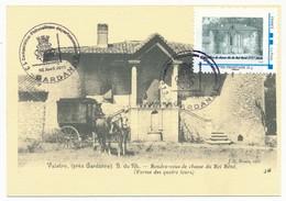 FRANCE - Carte Maximum / Timbramoi - GARDANNE VALABRE - Pavillon De Chasse Du Roi René - 2.4.2011 - Cartes-Maximum