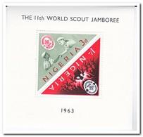 Nigeria 1963, Postfris MNH, Scouting - Nigeria (1961-...)