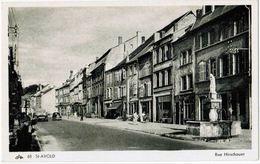 CPA SAINT AVOLD - Rue Hirschauer - Ed. CAP N°68 - Saint-Avold