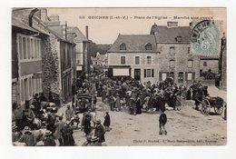 Guichen ( I Et V ) - Place De L'eglise - Marché Aux Veaux - 35 - - France