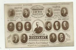 Kortrijk   *  Wetgevende Verkiezingen 1925 - Kandidaten Socialistische Partij - Elections - Kortrijk