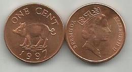 Bermuda 1 Cent 1997. - Bermudes
