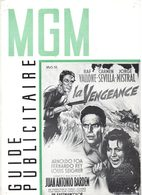 Dossier De Presse Cinéma MGM. La Vengeance De Juan Antonio Bardes. Raf Vallone, Carmen Sevilla, Jorge Mistral. 1959. - Cinema Advertisement