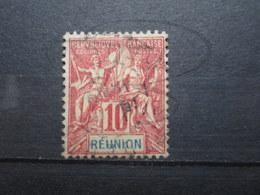 VEND BEAU TIMBRE DE LA REUNION N° 47 !!! (a) - Réunion (1852-1975)