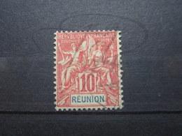 VEND BEAU TIMBRE DE LA REUNION N° 47 !!! (b) - Réunion (1852-1975)