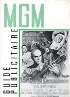 Dossier De Presse Cinéma MGM. Les Frères Karamazov De R.Brooks. Yul Brynner, Maria Schell, Claire Bloom. 1957. - Cinema Advertisement