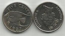 Bermuda 5 Cents 1997. - Bermudes