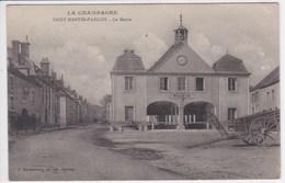 51 SAINT MARTIN D ABLOIS La Mairie , Charette Sur La Place - France