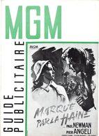 Dossier De Presse Cinéma MGM. Marqué Par La Haine De Robert Wise. Paul Newman, Pier Angeli, E.Sloane. 1956. - Cinema Advertisement