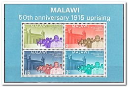 Malawi 1965, Postfris MNH, 50th Anniversary Of The Rebellion Under John Chilembwe - Malawi (1964-...)