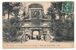 Lille - La Porte Intérieure De La Citadelle - Lille