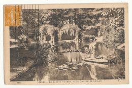 Lille - Le Jardin Vauban - La Grotte Et Le Lac - Lille