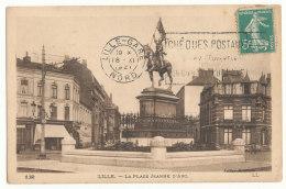 Lille - La Place Jeanne D'Arc - Lille