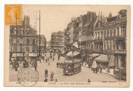 Lille - La Rue Des Manneliers - Lille
