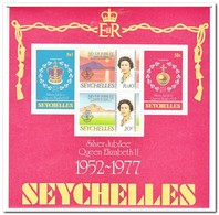Seychellen 1977, Postfris MNH, 25 Years Reign Of Queen Elizabeth II - Seychellen (1976-...)