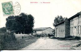 N°64401 -cpa Outines -le Marronnier- - Autres Communes