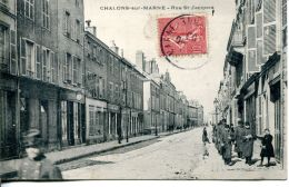 N°64393 -cpa Chalons Sur Marne -rue St Jacques- - Otros Municipios