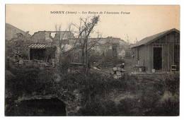 02 AISNE - SORNY Les Ruines De L'ancienne Ferme - Autres Communes