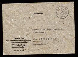 A5608) DDR Postsache-Brief Falkenberg 29.8.79 DDR-Recyclingpapier !! - DDR