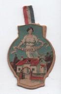 Insigne Carton/ Journée Nationale De Solidarité/ Le Devoir Social/Reconstitution/Minot/ 1918     POIL190 - 1914-18